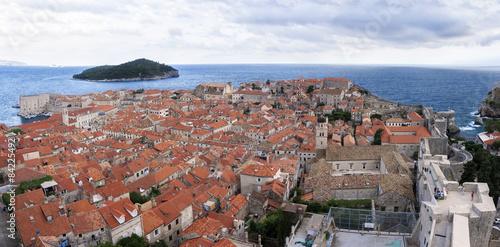 Foto  Panorámica tejados de Dubrovnik