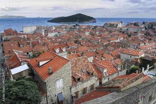 Tejados de Dubrovnik Poster