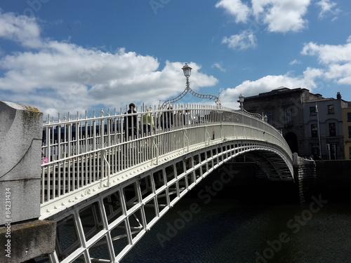 Photo  Halfpenny Bridge