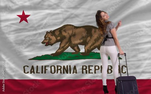 Fotografie, Obraz  tourist travel to california
