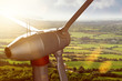 Leinwandbild Motiv Wind Energy
