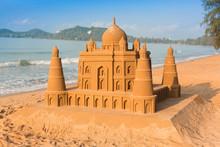 Taj Mahal Made Of Sand