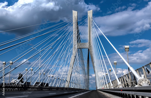 Redzinski Bridge in Wroclaw
