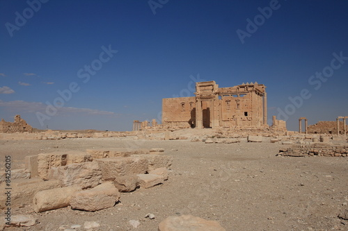 Poster Ruine Temple of Baal, Palmyra, Syria