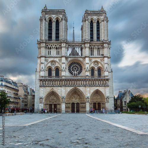 Foto op Plexiglas Monument Cathédrale Notre-Dame de Paris