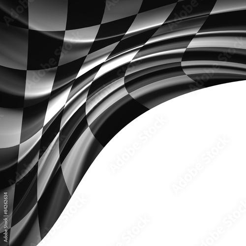 Foto op Plexiglas F1 Racing Flag