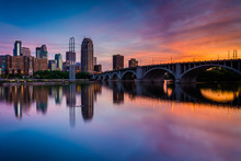 Sunset Over The Minneapolis Sk...