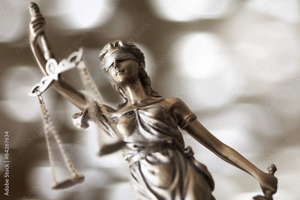 Fototapeta Statue of justice