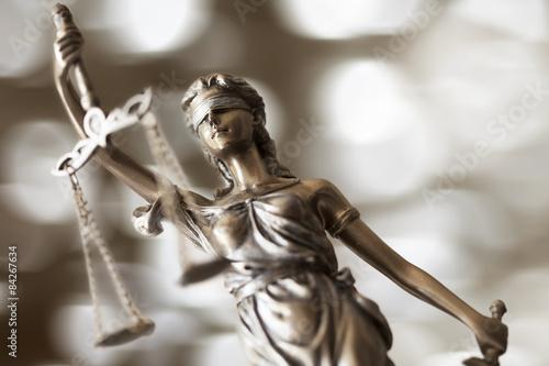 Fotografía  Estatua de la justicia