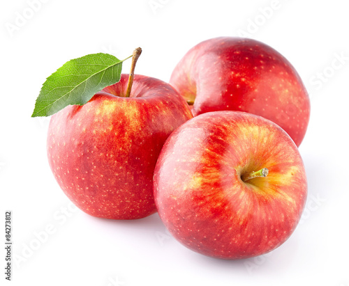 Foto op Aluminium Vruchten Red apples
