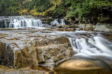 New Hampshire Stream With Wate...