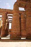 Kolumny w świątyni Karnak - Egypt