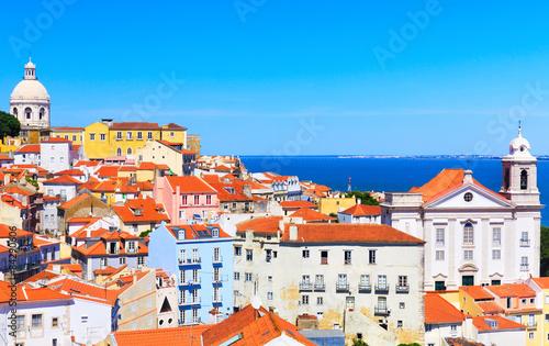 fototapeta na ścianę Pejzaż z Lizbony