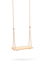 Wwooden Swing Hanging On A Cou...