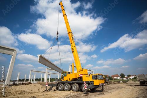 Fotografie, Obraz  Mobile crane