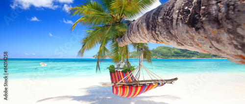 Photo Stands Tropical beach Strandidylle