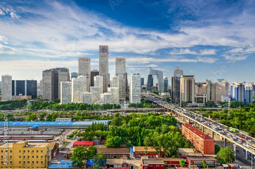 Keuken foto achterwand Peking Beijing, China Skyline