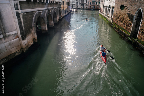 Fotografie, Obraz  Vogalonga Venice - Italy