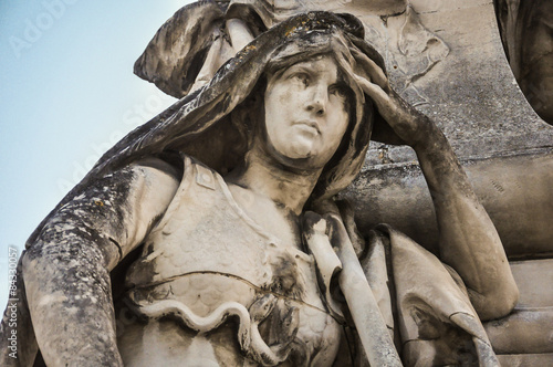 Photo  Le monument à Sadi Carnot par Raoul Verlet à Angoulême