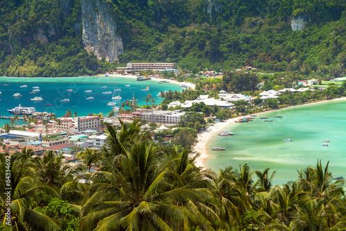 Fotomural tropical island, Phi-Phi Don, Thailand.