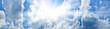 Leinwandbild Motiv Sky background