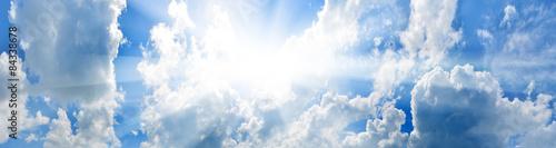 Aluminium Prints Heaven Sky background