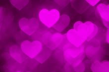 Pink Heart Shape Holiday Photo...