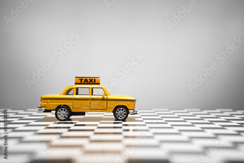 Foto op Plexiglas New York TAXI Taxi