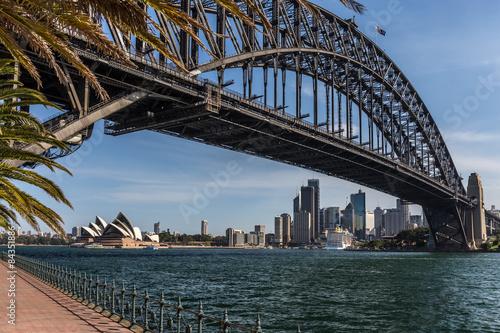 Blick auf Downtown Sydney