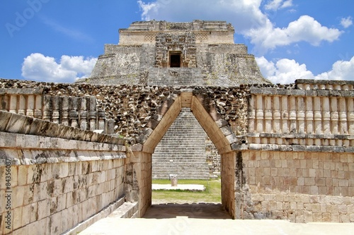 Uxmal Pyramid Complex in Mexico #84356087