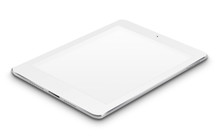 Realistic Tablet Computer With...