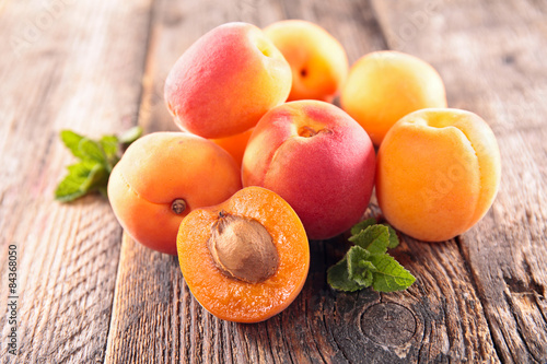 Leinwand Poster apricot
