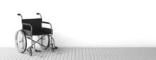 Black Disability Wheelchair Ne...