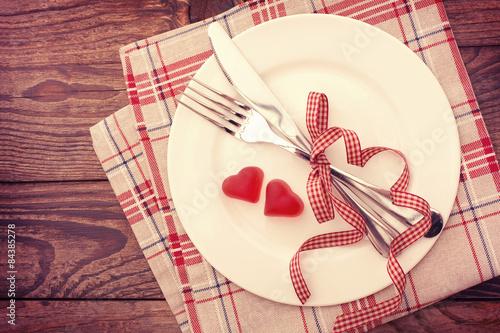 Fotografía  Día de San Valentín amor hermoso