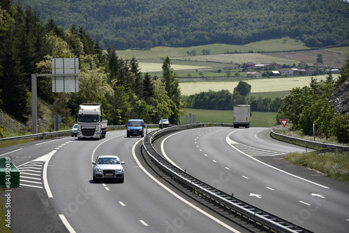 Photo Circulation sur autoroute