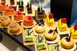 canvas print picture - Dessert in restaurant