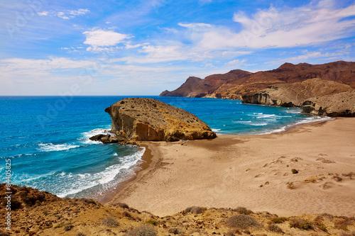 Almeria Playa del Monsul beach at Cabo de Gata