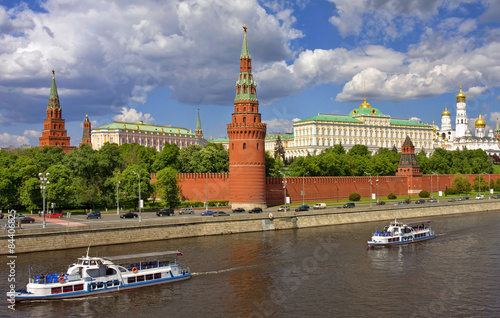 City on the water Kremlin, Moscow, Russia