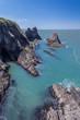 Coastline With Sea Cave