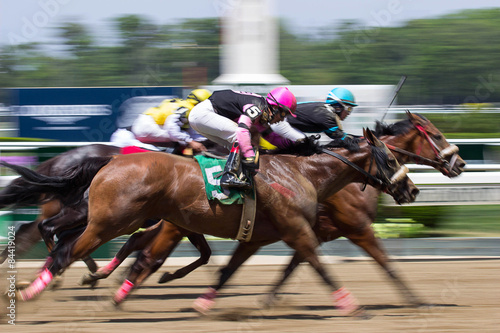Photo  Finish Line at Belmont