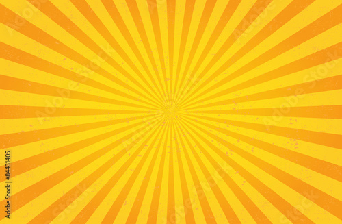 Fototapeta Sunburst Pattern