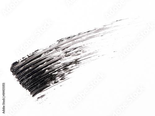 Valokuva  Mascara brush stroke on background