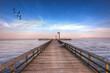 Pier into the Chesapeake Bay