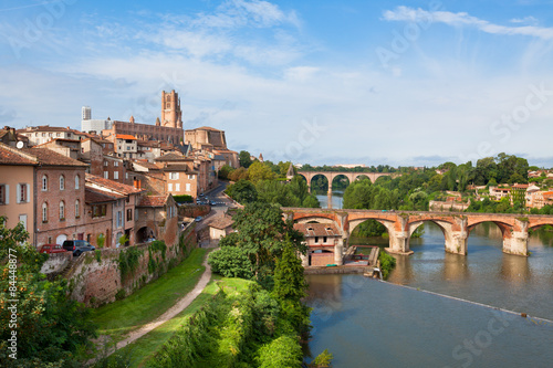 View of Albi, France Canvas Print