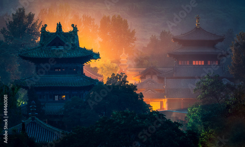 Wall Murals Place of worship Shaolin temple