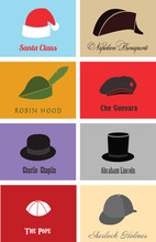Hats Of Famous People And Characters