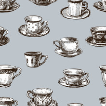 Pattern Of The Teacups