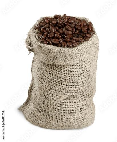 Aluminium Prints Coffee beans Sack, Bag, Bean.