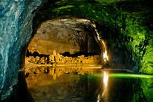 Underground Lake In Hinterbruh...