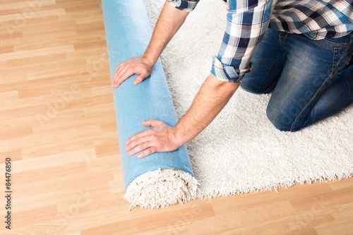 Fotografie, Obraz  Carpet, carpeting, redesign.